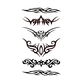 cheap Temporary Tattoos-Temporary Tattoos Special Design / Disposable Body / Shoulder / Leg Water-Transfer Sticker Tattoo Stickers