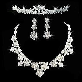 abordables Joyería para Boda y Fiesta-Mujer Otros Conjunto de joyas Pendientes / Collare / Tiaras - Regular Para Boda / Fiesta / Aniversario