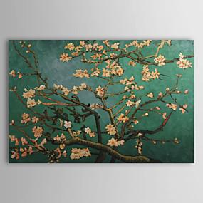 billige Van Gogh Malerier-Hang malte oljemaleri Håndmalte - Kjent Tradisjonell Inkluder indre ramme / Stretched Canvas