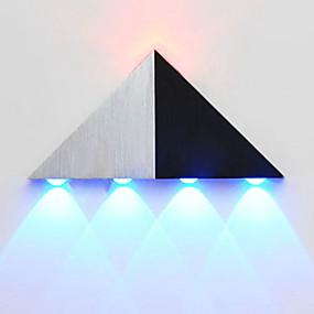 billige Vegglamper-BriLight Moderne / Nutidig Metall Vegglampe 90-240V 5 W / Integrert LED