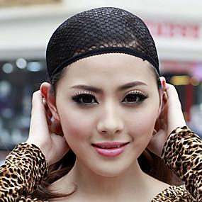 رخيصةأون أدوات و اكسسوارات-قبعة / Wig Accessories شبكة / قطن قبعات الباروكة شبكة سقف مستعار مريح / جودة عالية 1 pcs أسود