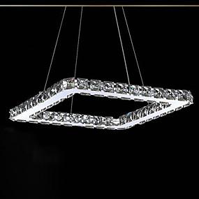 billige Hengelamper-UMEI™ Lineær Anheng Lys Omgivelseslys galvanisert Metall Krystall, LED 90-240V LED lyskilde inkludert / Integrert LED