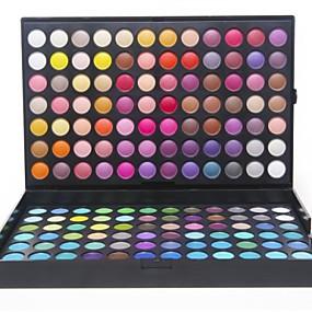 preiswerte Lidschatten-252 Farben Lidschatten Auge / Gesicht Wasserfest / Matt / Schimmer / Glänzender Schein / Modisch / rauchig Lang anhaltend Alltag Make-up / Party Make-up Alltag Kosmetikum