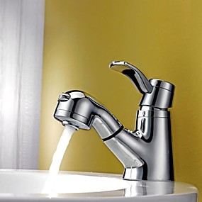 Pullout Spray Bathroom Sink Faucets Search Lightinthebox