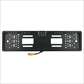 povoljno Stražnja kamera za auto-cs1017 Europski automobil registarskih oznaka osvrtnih fotoaparat - crni