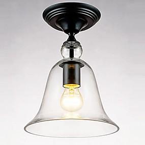 tanie Mocowanie przysufitowe-Podtynkowy Oświetlenie od dołu (uplight) Metal Szkło Styl MIni 110-120V / 220-240V Nie zawiera żarówek / E26 / E27