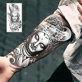 cheap Temporary Tattoos-1 pcs Temporary Tattoos Special Design / Eco-friendly brachium / Leg Water-Transfer Sticker Tattoo Stickers