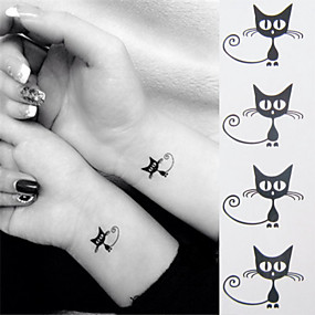 cheap Temporary Tattoos-1 pcs Temporary Tattoos Mini Style / Eco-friendly Hand / Ankle Water-Transfer Sticker Tattoo Stickers