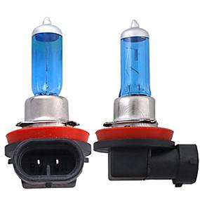 お買い得  車用ヘッドライト-2pcs H11 車載 電球 55W 1300lm ハロゲンライト ヘッドランプ