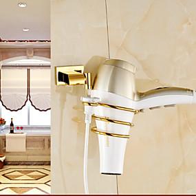 cheap Bath Fixtures-Bathroom Shelf Contemporary Brass 1 pc - Hotel bath