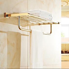 economico Accessori per il bagno-Mensola del bagno Moderno Ottone 1 pezzo - Bagno dell'hotel Matrimoniale