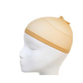 رخيصةأون أدوات و اكسسوارات-Wig Accessories قبعات الباروكة 2 pcs يوميا كلاسيكي أشقر