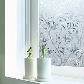 cheap Wall Stickers-Window Film & Stickers Decoration Contemporary Art Deco PVC/Vinyl Window Film