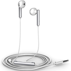 cheap Weekly Deals-Huawei HUAWEI AM116 Earbud Wired Headphones Plastic Mobile Phone Earphone with Volume Control / with Microphone Headset