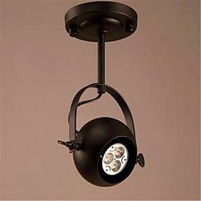 tanie Mocowanie przysufitowe-Podtynkowy Światło rozproszone Galwanizowany Metal Styl MIni, LED, projektanci 110-120V / 220-240V Zawiera żarówkę / E26 / E27