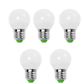 رخيصةأون لمبات LED-EXUP® 5 W مصابيح كروية LED 450 lm E14 E26 / E27 G45 12 الخرز LED SMD 2835 ديكور أبيض دافئ أبيض كول 220-240 V 110-130 V, 5pcs / 5 قطع / بنفايات / CCC / ERP / LVD