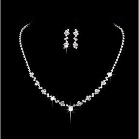 povoljno Svečani nakit-Žene Glina Naušnice Jewelry Pink Za Vjenčanje Party