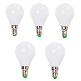 economico Lampadine LED-EXUP® 5 pezzi 7 W Lampadine globo LED 800 lm E14 E26 / E27 G45 12 Perline LED SMD 2835 Decorativo Bianco caldo Luce fredda 220-240 V 110-130 V / RoHs / CCC / ERP / LVD