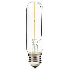 billige Glødelampe-BRELONG® 1pc 2 W E26 / E27 T10 2300 k LED-glødepærer 220 V / 220-240 V