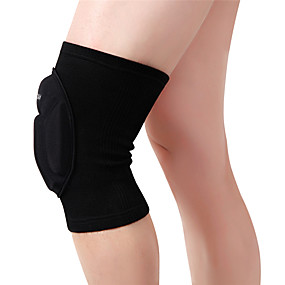 cheap Protective Gear-WOSAWE 1 PC Elastic Knee Pads Breathable Football Basketball Snowboarding Skating Cycling Sports Leg Sleeve Kneepad Protector