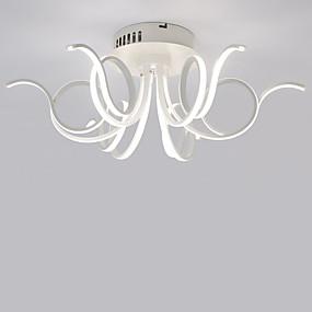 hesapli Gömme Montaj-LightMyself™ 6-Işık Sıva Altı Monteli Aşağı Doğru Gümüş Alüminyum Mini Tarzı, LED 110-120V / 220-240V Sıcak Beyaz / Beyaz LED Işık Kaynağı Dahil / Birleştirilmiş LED