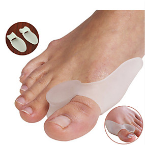 cheap Health & Personal  Care-a-pair-of-silicone-gel-bunion-splint-big-toe-separator-overlapping-spreader-protection-corrector-hallux-valgus-foot-massager