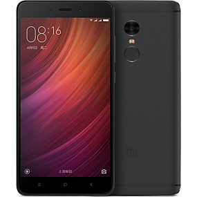 billige Mobiltelefoner-Xiaomi Redmi Note 4 Global Version 5.5 tommers / 5.1-5.5 tommers tommers 4G smarttelefon (4GB + 64GB 13 mp Qualcomm Snapdragon 625 4100 mAh mAh) / 1920*1080 / Ja / Octa Core / FDD (B1 2100MHz)