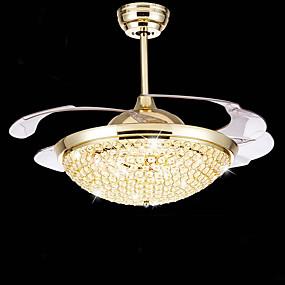 hesapli Tavan Fanları-Sıva Altı Monteli Ortam Işığı Eloktrize Kaplama Metal LED 110-120V / 220-240V LED Işık Kaynağı Dahil / Birleştirilmiş LED