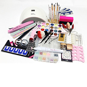 povoljno Salon za nokte-77pcs Nail art alat Nail art setovi i pribor Nail Art Design