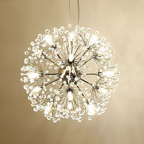 povoljno Lusteri-sputnjik Privjesak Svjetla Ambient Light Electroplated Metal LED 110-120V / 220-240V Meleg fehér / Bijela Bulb Included / G4