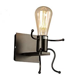 hesapli Duvar Aplikleri-Duvar ışığı Ortam Işığı Duvar lambaları 40W 110-120V 220-240V E27 Köy/Kırsal Modern/Çağdaş Yenilikçi Resim