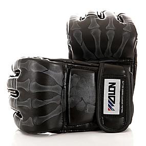 ba70700346d64 Guantes para Saco de Boxeo   Guantes de Boxeo para Entrenamiento   Guantes  de MMA para Taekwondo   Boxeo   Kárate Guantes sin dedos Ajustable    Transpirable ...