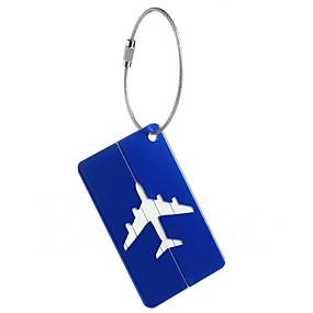 tanie Akcesoria podróżnicze i bagażowe-1 szt. Identyfikator do bagażu Alarm przeciw zgubieniu na Alarm przeciw zgubieniu Stop aluminium - Żółty / brązowa herbata / Wino