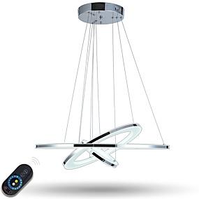 billige Rabatt på frakt-Anheng Lys Omgivelseslys galvanisert Metall Akryl Mulighet for demping, LED, Dimbar med fjernkontroll 110-120V / 220-240V LED lyskilde inkludert / Integrert LED