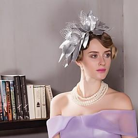 povoljno Kentucky Derby Hat-vještačka koža Kentucky Derby Hat / Fascinators / kape s 1 Vjenčanje / Special Occasion / Kauzalni Glava