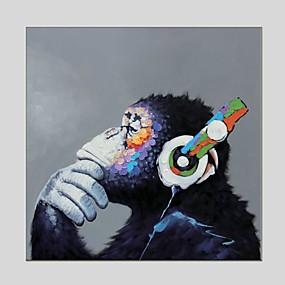 povoljno Trends-Print Rolled Canvas Prints - Životinje Klasik Moderna Umjetničke grafike