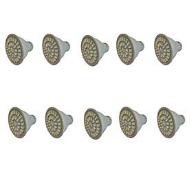 billige LED Økende Lamper-3 W LED-drivhuslamper 300-350 lm GU10 GU5.3(MR16) E27 MR16 35 LED perler SMD 5733 Rød Blå 220 V 110 V / 10 stk. / RoHs