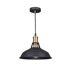 billige Hengelamper-Bowl Anheng Lys Omgivelseslys Malte Finishes Metall LED 110-120V / 220-240V Gul Pære ikke Inkludert / E26 / E27
