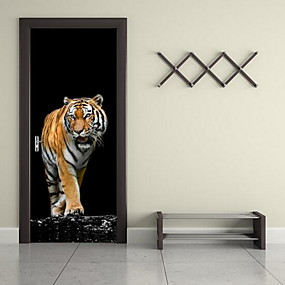 cheap Wall Stickers-Door Stickers - Animal Wall Stickers Animals Living Room / Bedroom