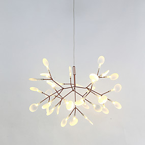 cheap Chandeliers-Sputnik Chandelier Ambient Light Painted Finishes Metal LED 110-120V / 220-240V Warm White LED Light Source Included / LED Integrated