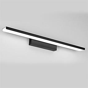 billige Vanity-lamper-81cm moderne 32w ledet speil lampe bad lyser 90-240v aluminium materialer vegg lys sminke belysning