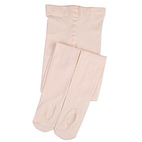 billige Sokker-Barne Sokker Standard Ensfarget Leg Shaping Fløyel I-rør EU36-EU46