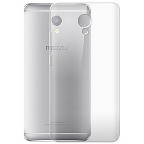 levne Pouzdra telefonu-Carcasă Pro Meizu Průhledné Zadní kryt Ostatní Měkké TPU pro Meizu Note 5