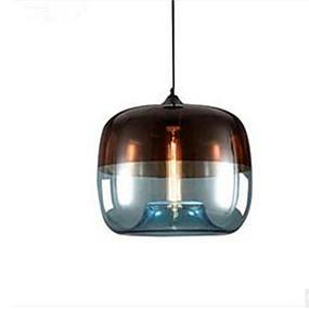 billige Hengelamper-Drum Anheng Lys Omgivelseslys Malte Finishes Metall Glass LED 110-120V / 220-240V Varm Hvit / E26 / E27