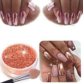 billige Nail Glitter-1 / æske Akryl Pulver Til Negle kunst Manicure Pedicure Klassisk Daglig