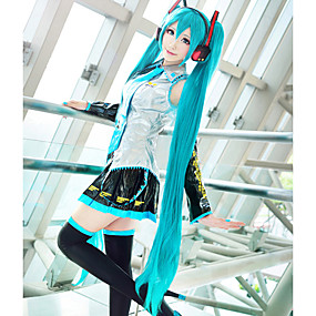 cheap Daily Deals-Vocaloid Hatsune Miku Women's 48 inch Heat Resistant Fiber Anime Cosplay Wigs