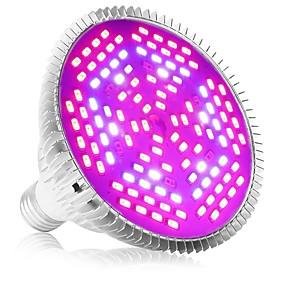 billige LED Økende Lamper-1pc e27 120led 78red24blue6white6ir6uv full spektrum led vokse pære for hage blomstrende hydroponics system ac85-265v