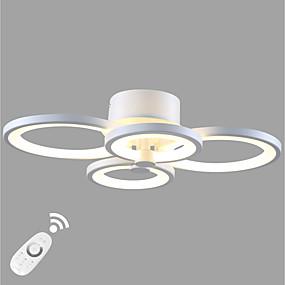 tanie Mocowanie przysufitowe-Ecolight™ Podtynkowy Światło rozproszone Malowane wykończenia Metal Akryl Zawiera żarówkę, Przygaszanie, projektanci 90-240V Ciepła biel / Biały Źródło światła LED w zestawie / LED zintegrowany