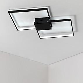 tanie Mocowanie przysufitowe-2 światła Podłużna Podtynkowy Światło rozproszone Malowane wykończenia Aluminium Matowy, Wiele tonów, Zawiera żarówkę 110-120V / 220-240V Ciepła biel / Chłodna biel Źródło światła LED w zestawie