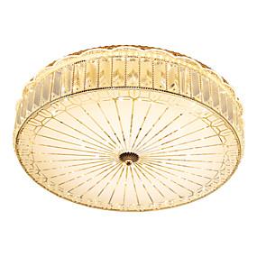 tanie Mocowanie przysufitowe-Podtynkowy Światło rozproszone Galwanizowany Metal Kryształ, Zawiera żarówkę 110-120V / 220-240V Ciepła biel / Chłodna biel Źródło światła LED w zestawie / LED zintegrowany